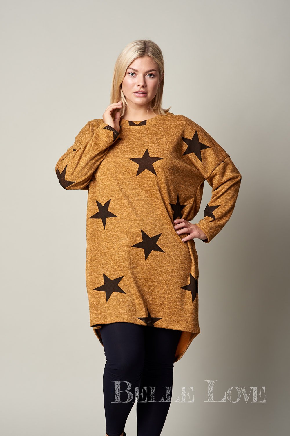 Belle Love Italy Statement Star Tunic