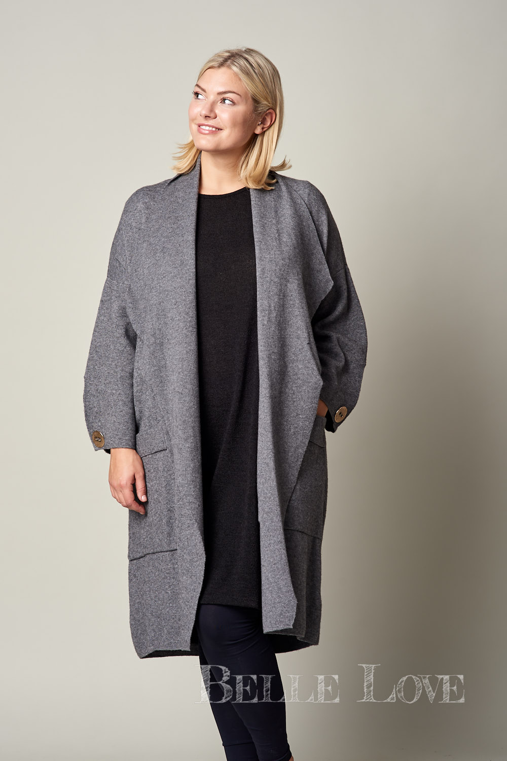 Belle Love Italy Compton Long Coat