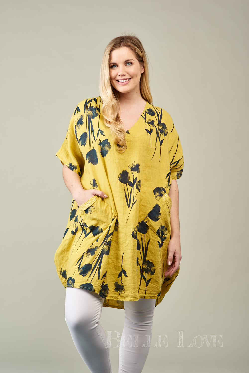 Belle Love Italy Helena Floral Tunic