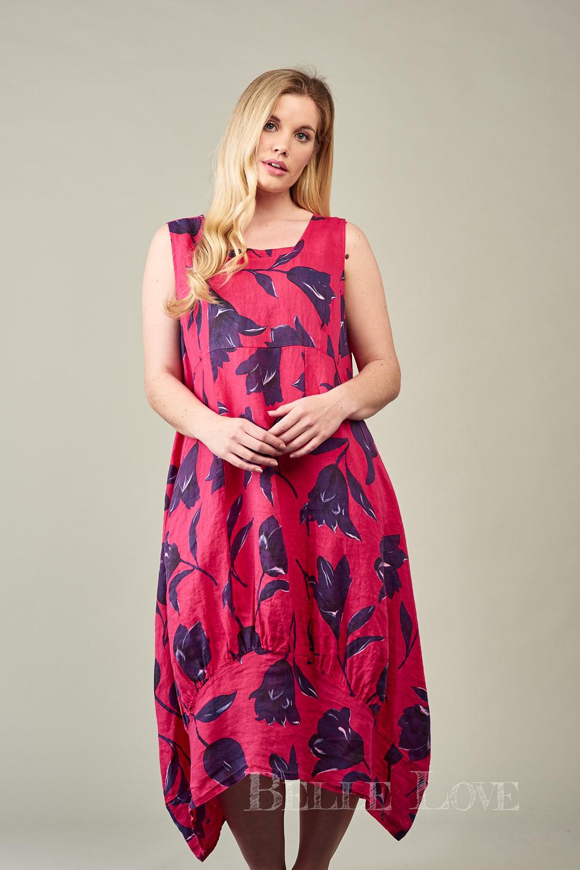 Belle Love Italy Antonia Linen Dress