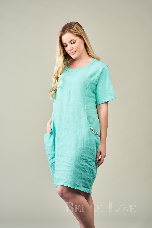 Belle Love Italy Siena Linen Dress
