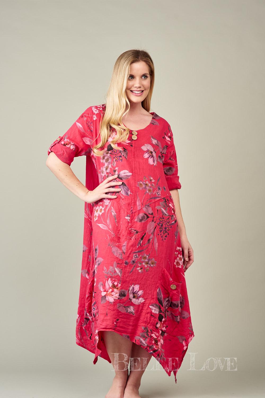 Belle Love Italy Eugene Linen Dress