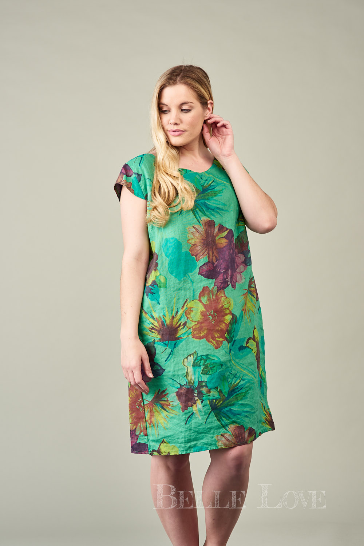 Belle Love Italy Pia Linen Dress