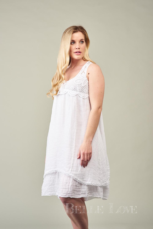 Belle Love Italy Elisa Linen Dress
