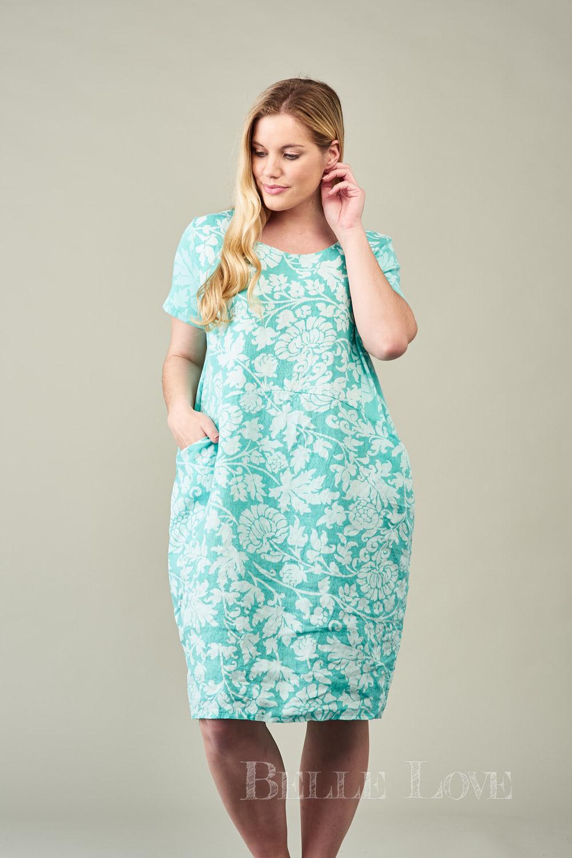 Belle Love Italy Emilia Linen Dress