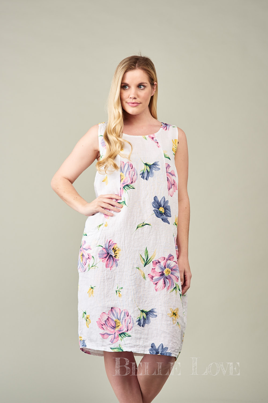 Belle Love Italy Noemi Linen Dress