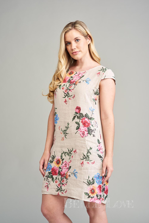Belle Love Italy Arianna Linen Dress