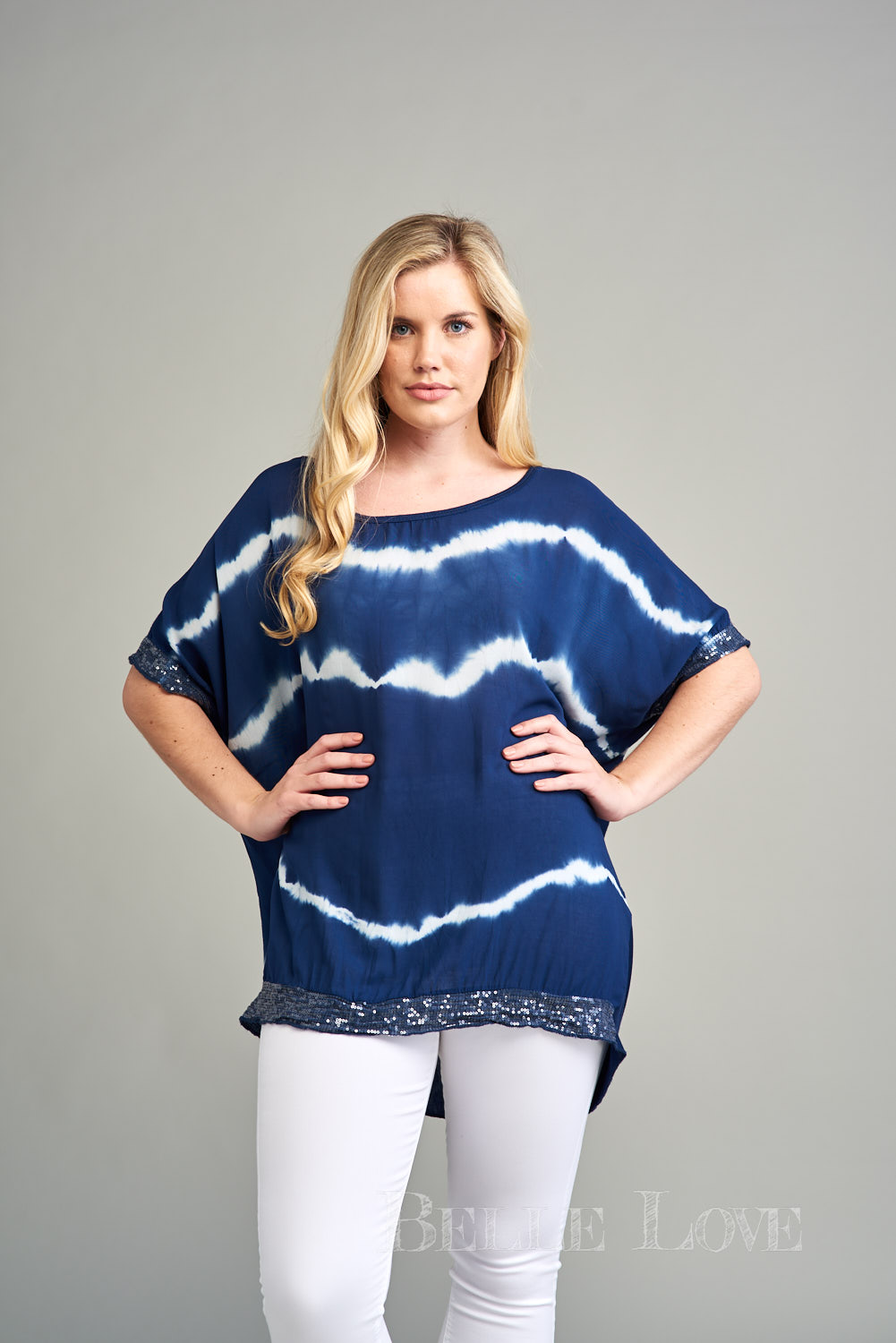 Belle Love Italy Camilla Tie-Dye Top