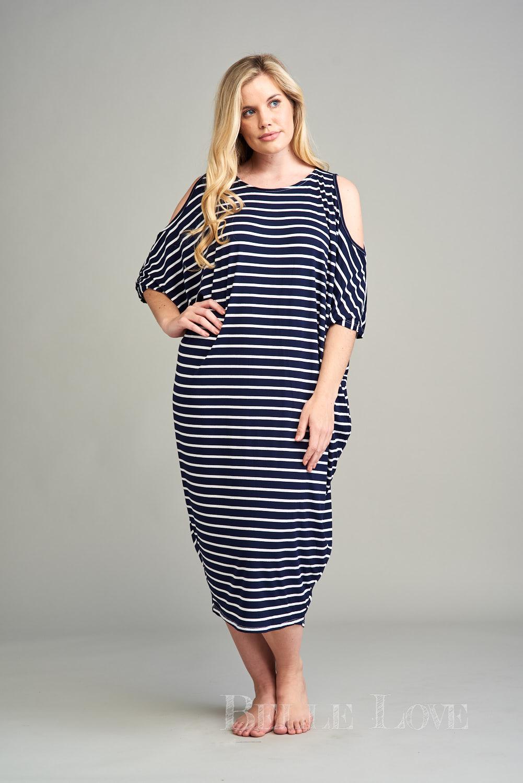 Belle Love Italy Phoenix Stripe Dress