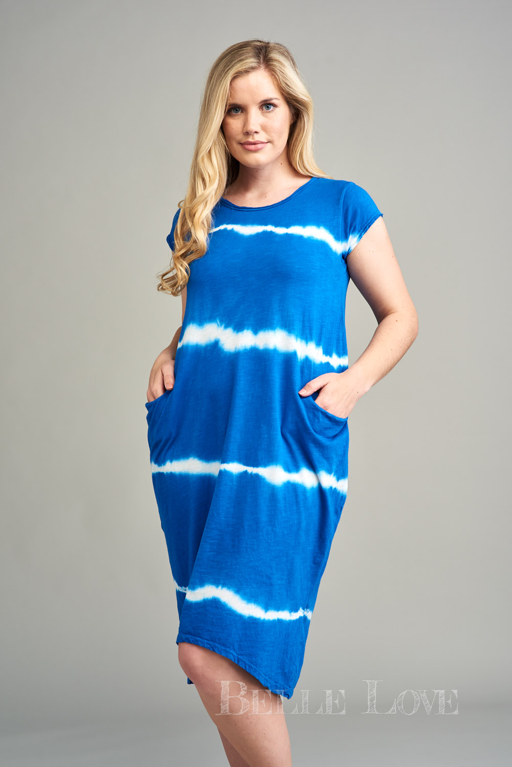 Belle Love Italy Caelia Tie-Dye Dress