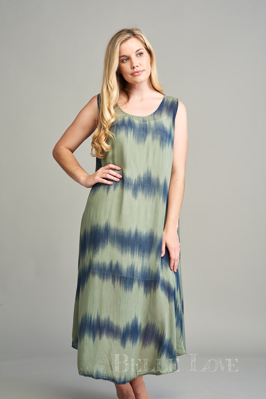 Belle Love Italy Nico Tie-Dye Sun Dress