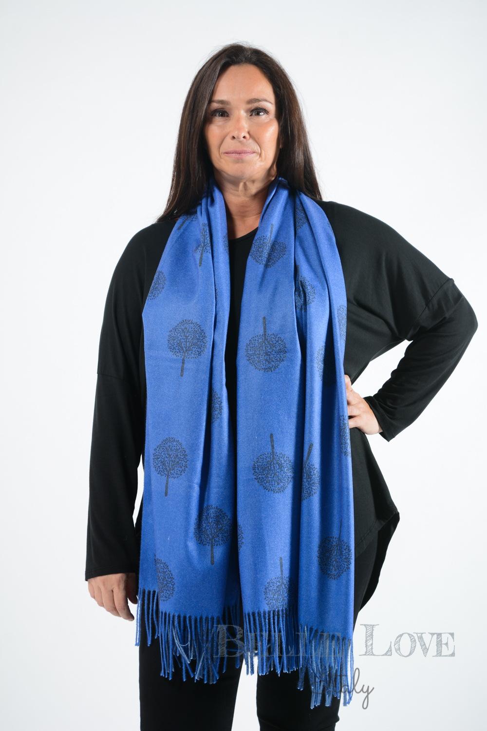 Belle Love Italy Luxury Cashmere Mix Scarf