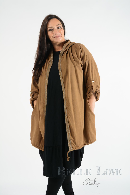Belle Love Italy Grace Hooded Jacket