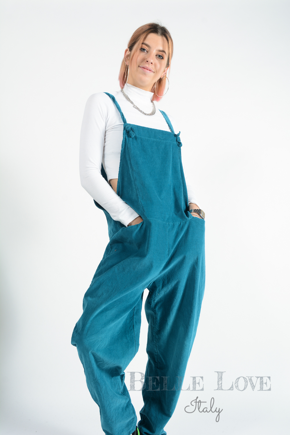 Belle Love Italy Tinsley Dungarees