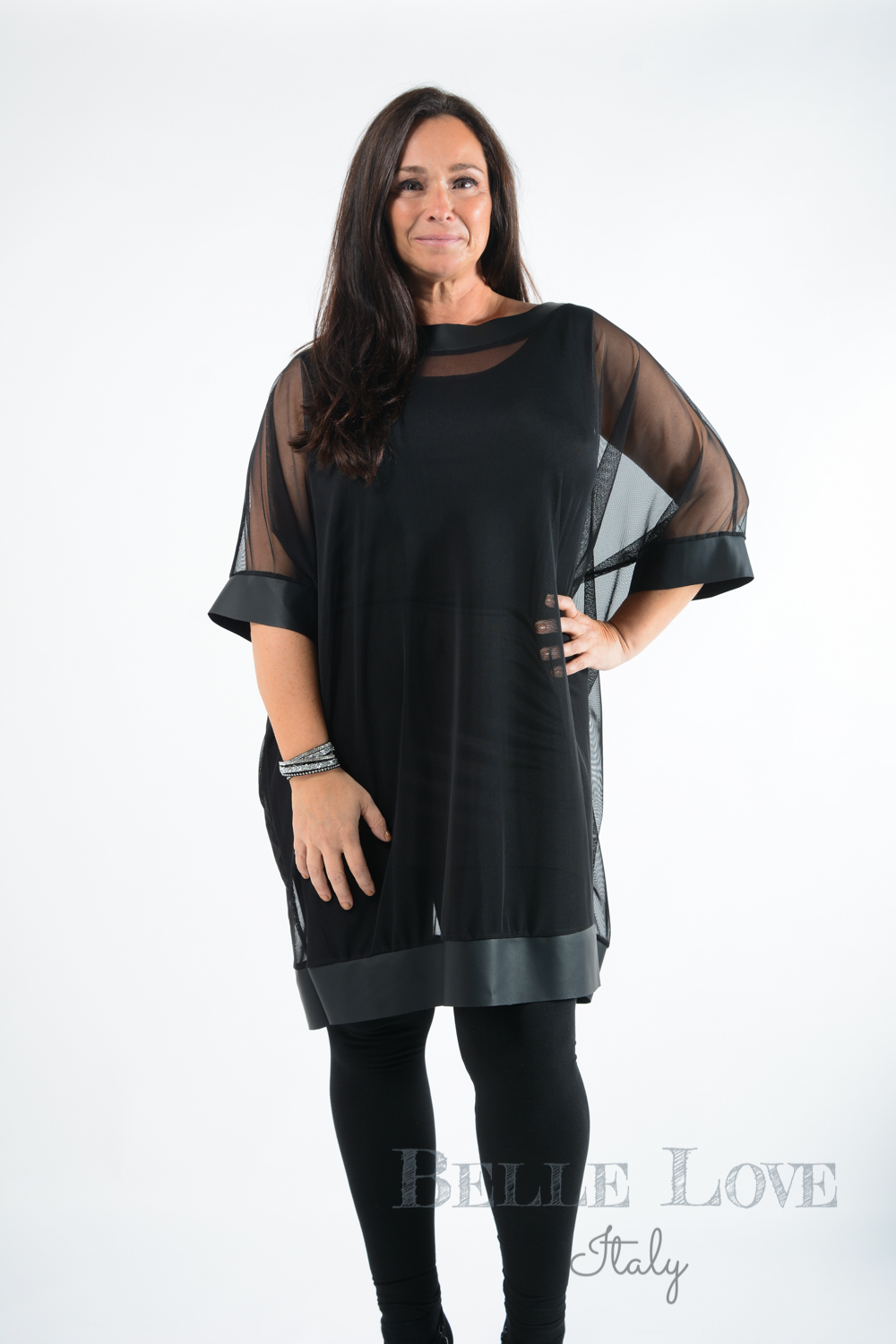 Belle Love Italy Sara Plain Tunic