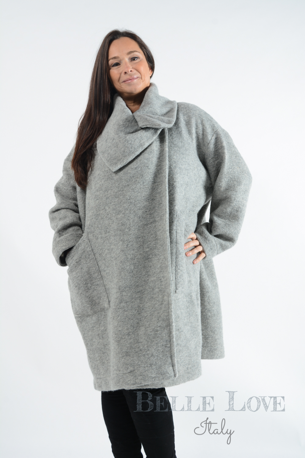 Belle Love Italy Vinci Wool Coat