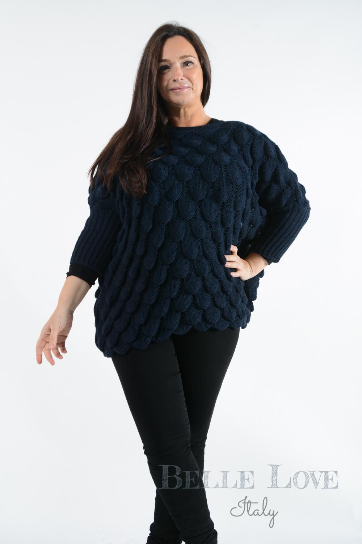 Belle Love Italy Nova Crochet Jumper