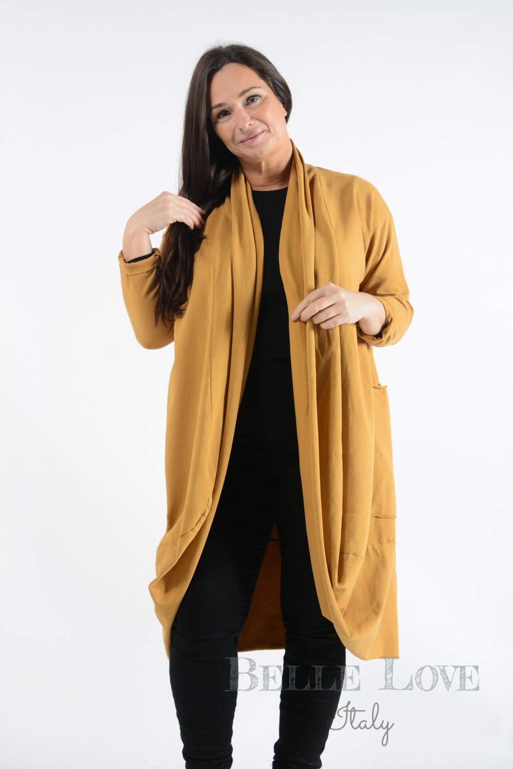 Belle Love Italy Alton Long Jacket