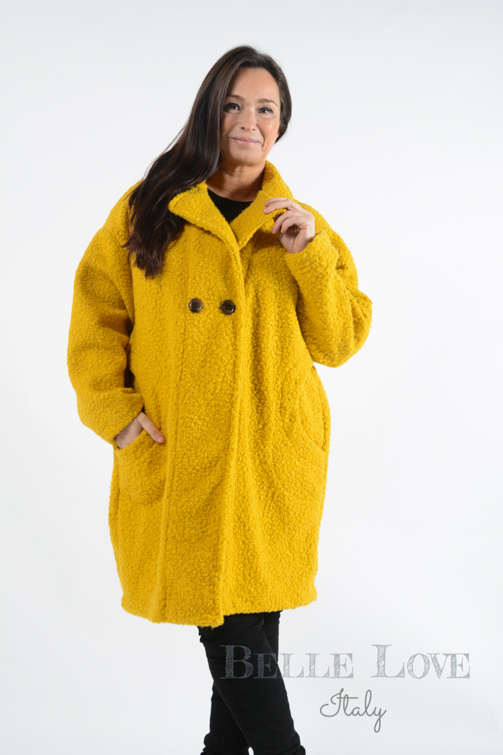 Belle Love Italy Castleford Teddy Coat