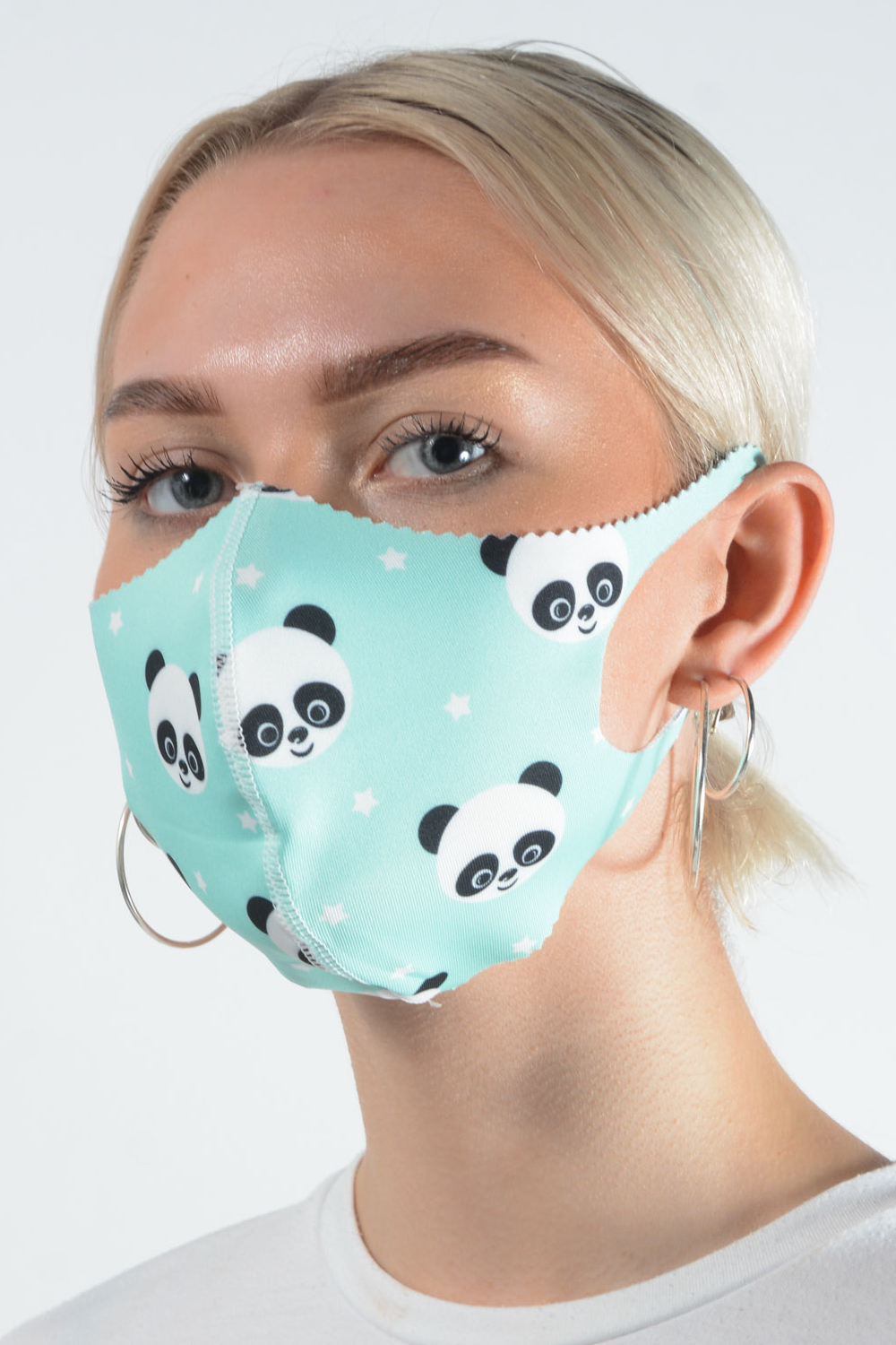 Belle Love Italy Panda Face Mask
