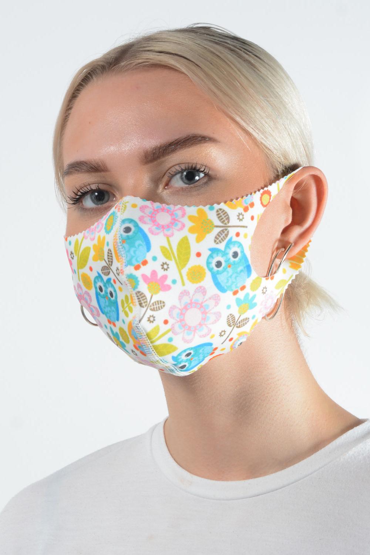 Belle Love Italy Owl Face Mask