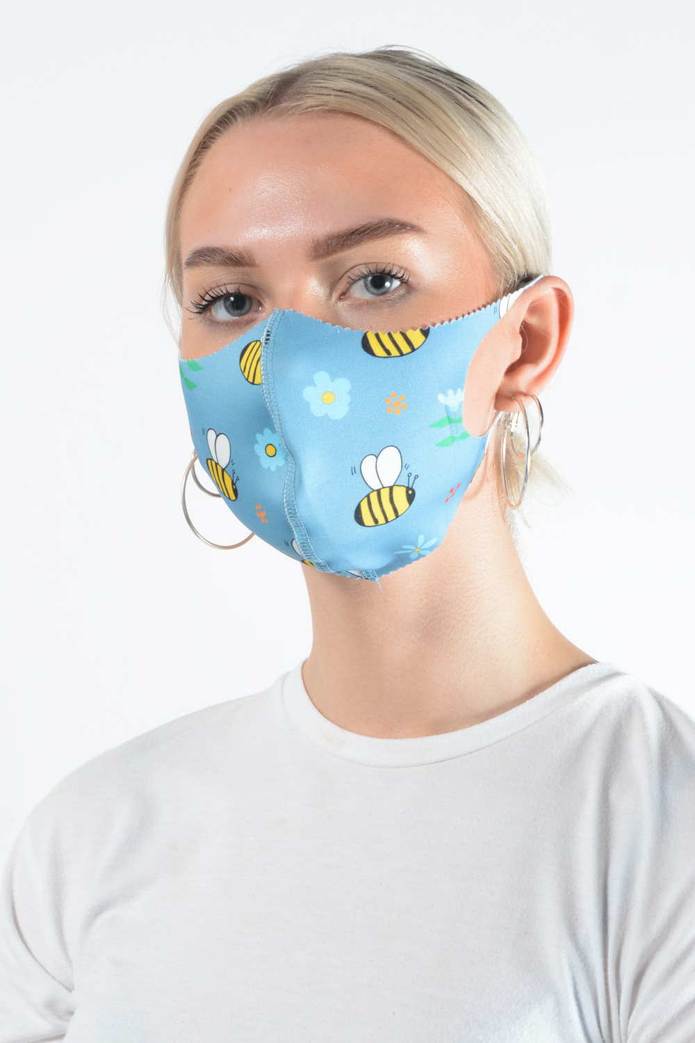 Belle Love Italy Bumble Bee Face Mask