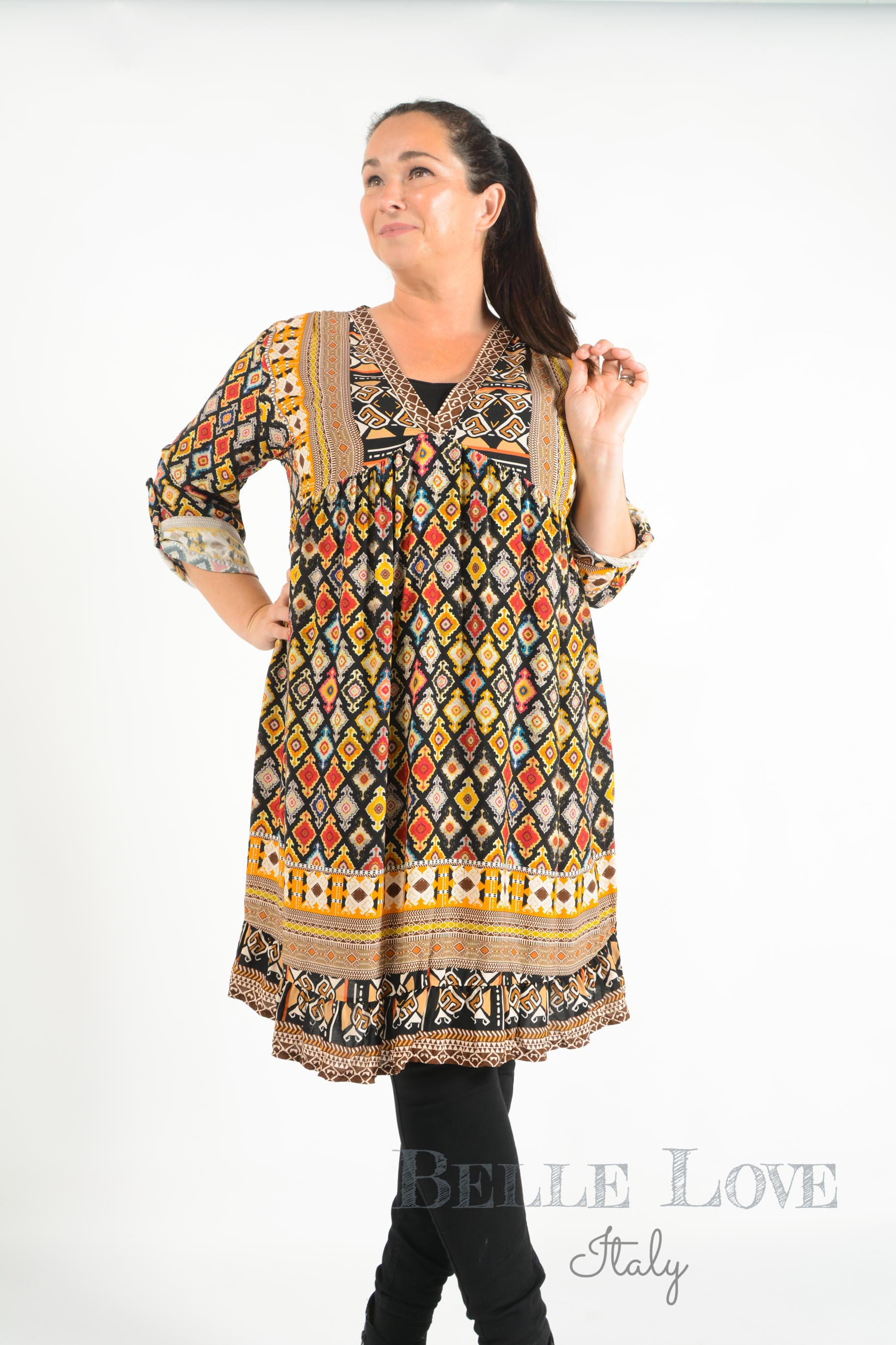 Belle Love Italy Roberta Smock Dress