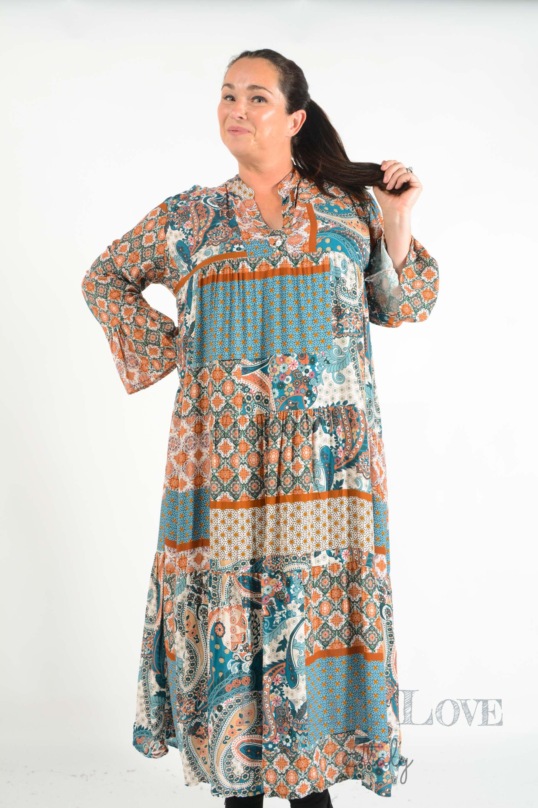 Belle Love Italy Poppy Maxi Dress
