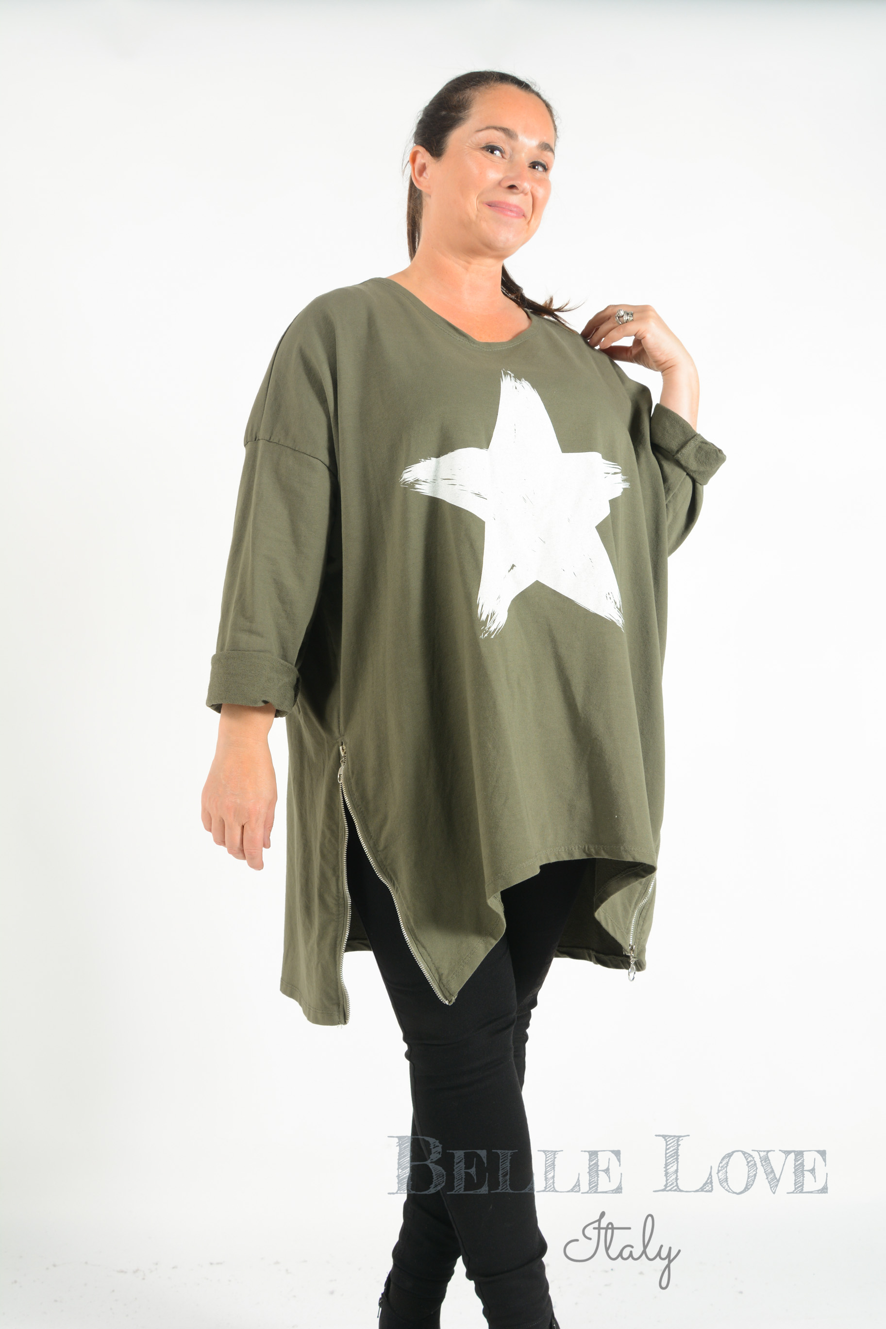 Belle Love Italy Verity Star Sweatshirt