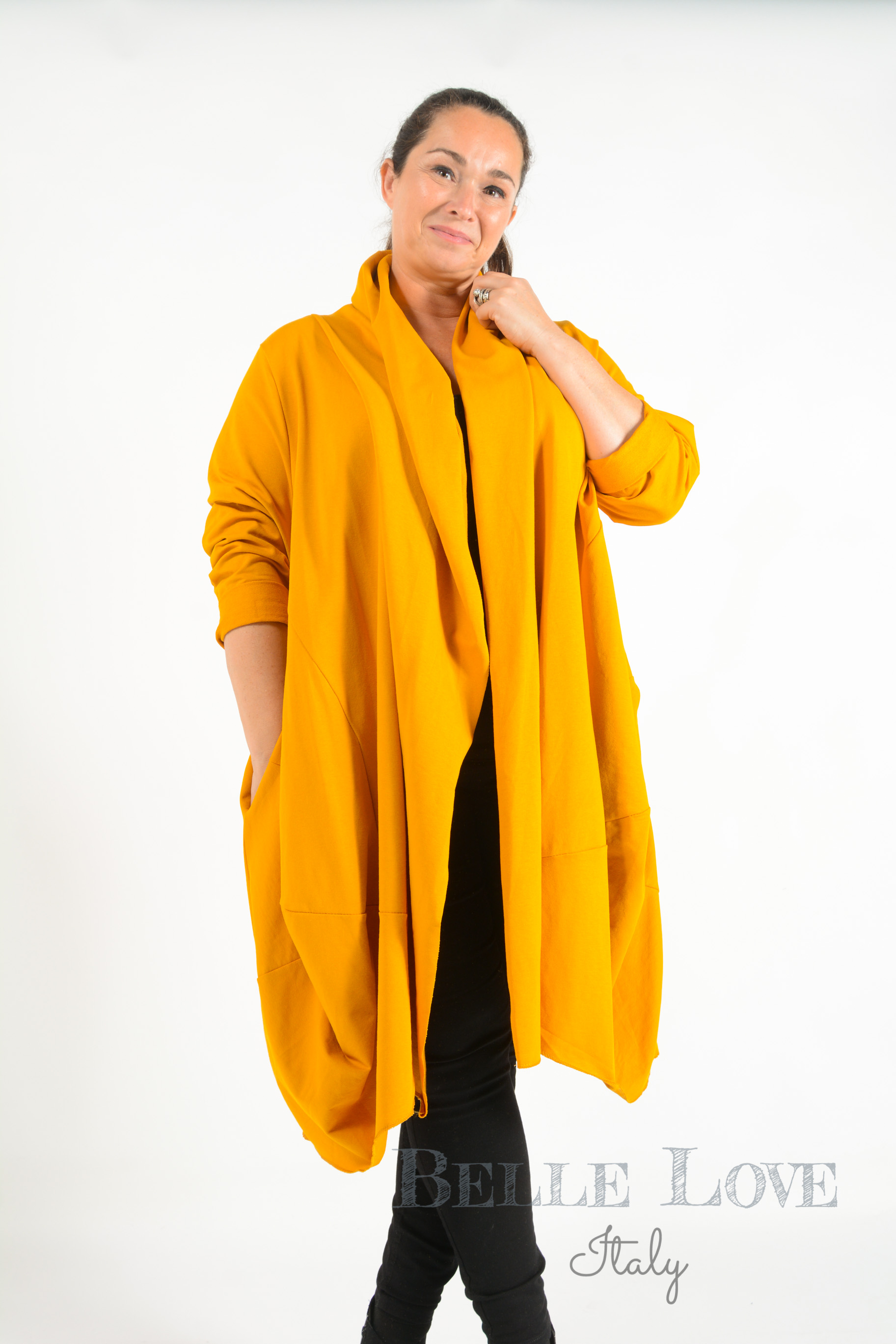 Belle Love Italy Willow Open Front Jacket/Cardigan