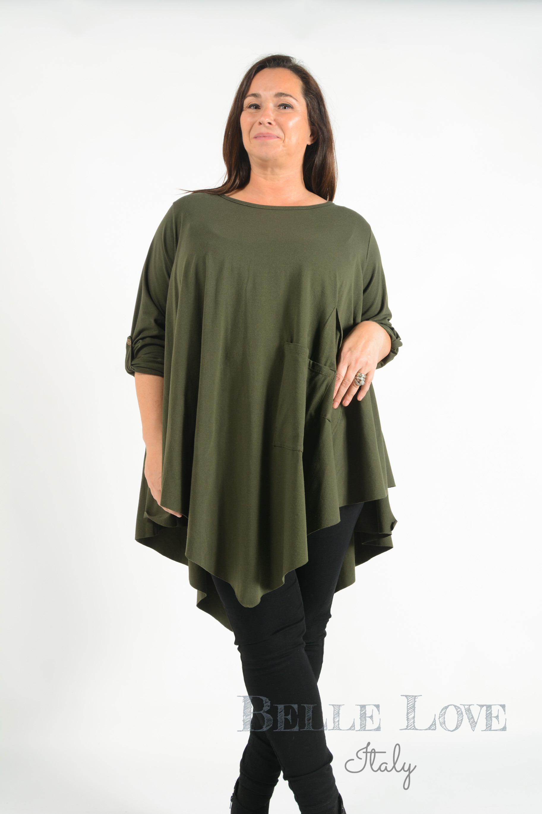 Belle Love Italy Trixibelle Flared Tunic Top