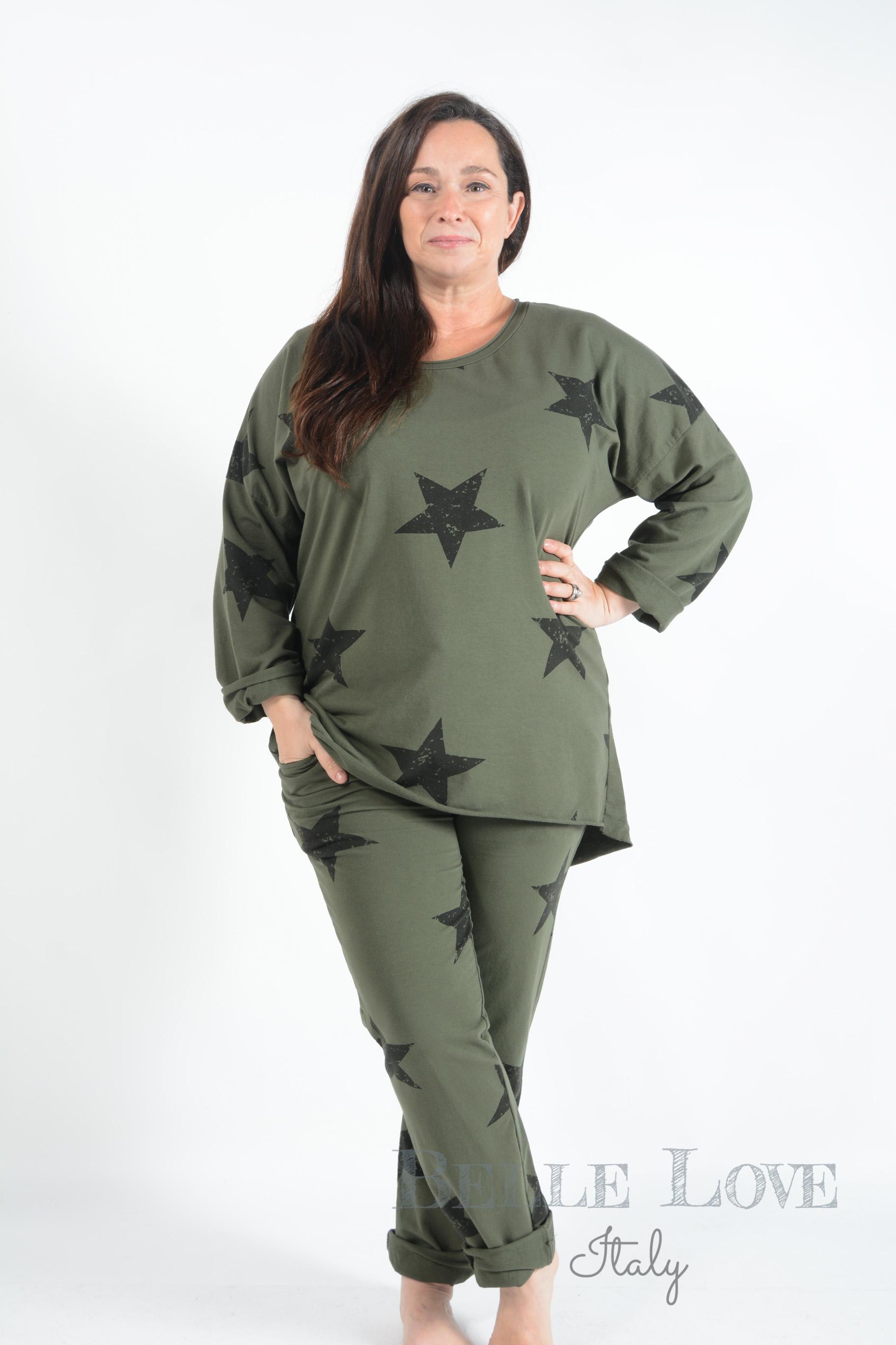 Belle Love Italy Star Loungewear Set