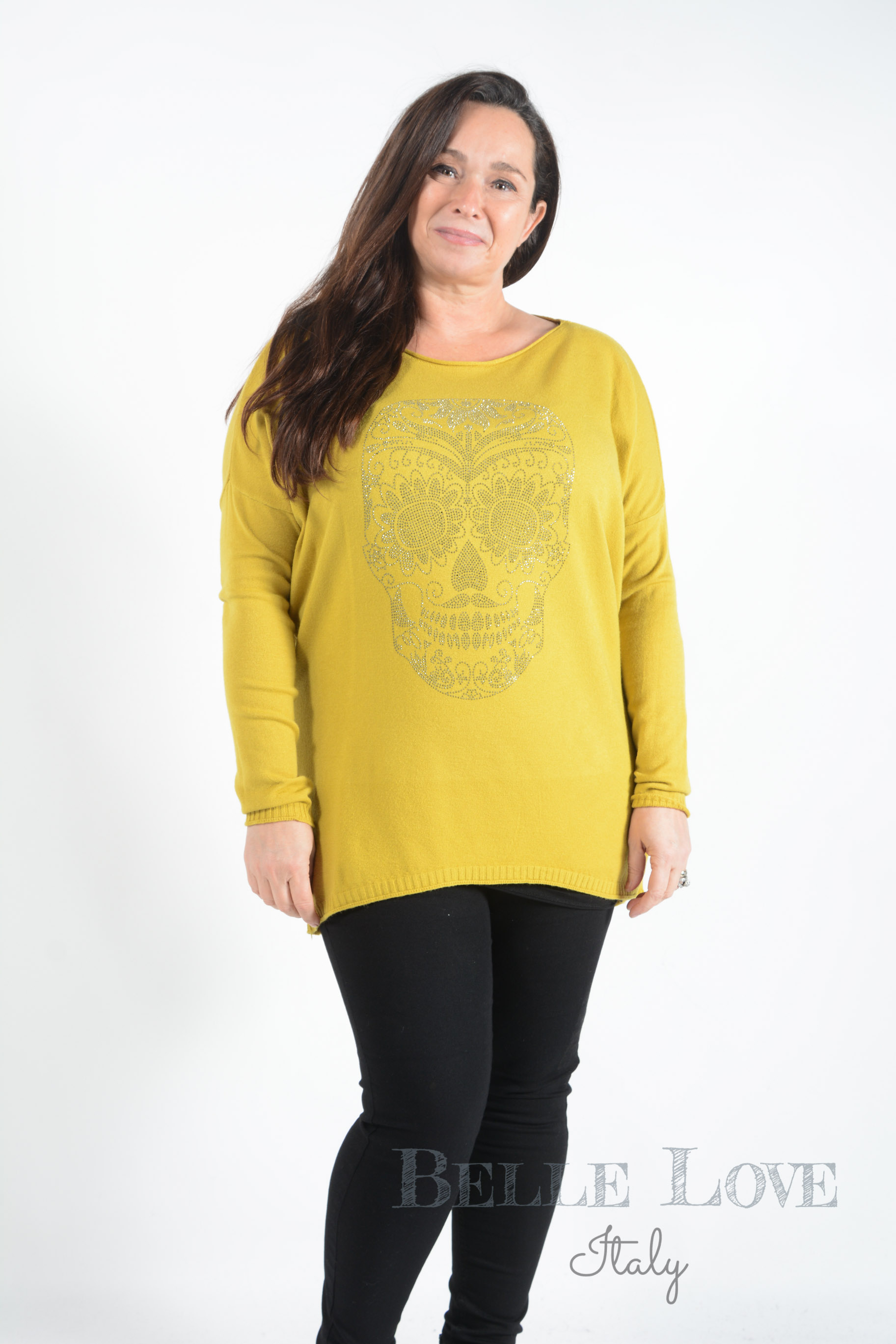 Belle Love Italy Addison Skull Top