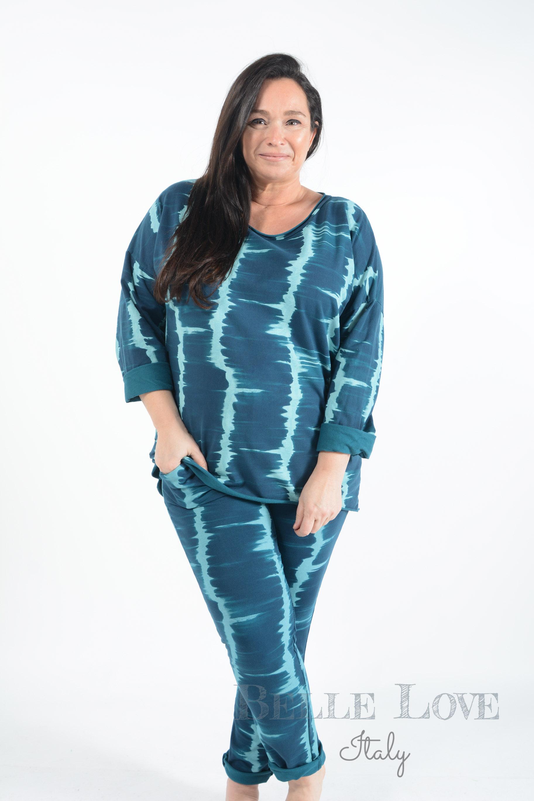 Belle love Italy Teagan Tie-Dye Loungewear Set