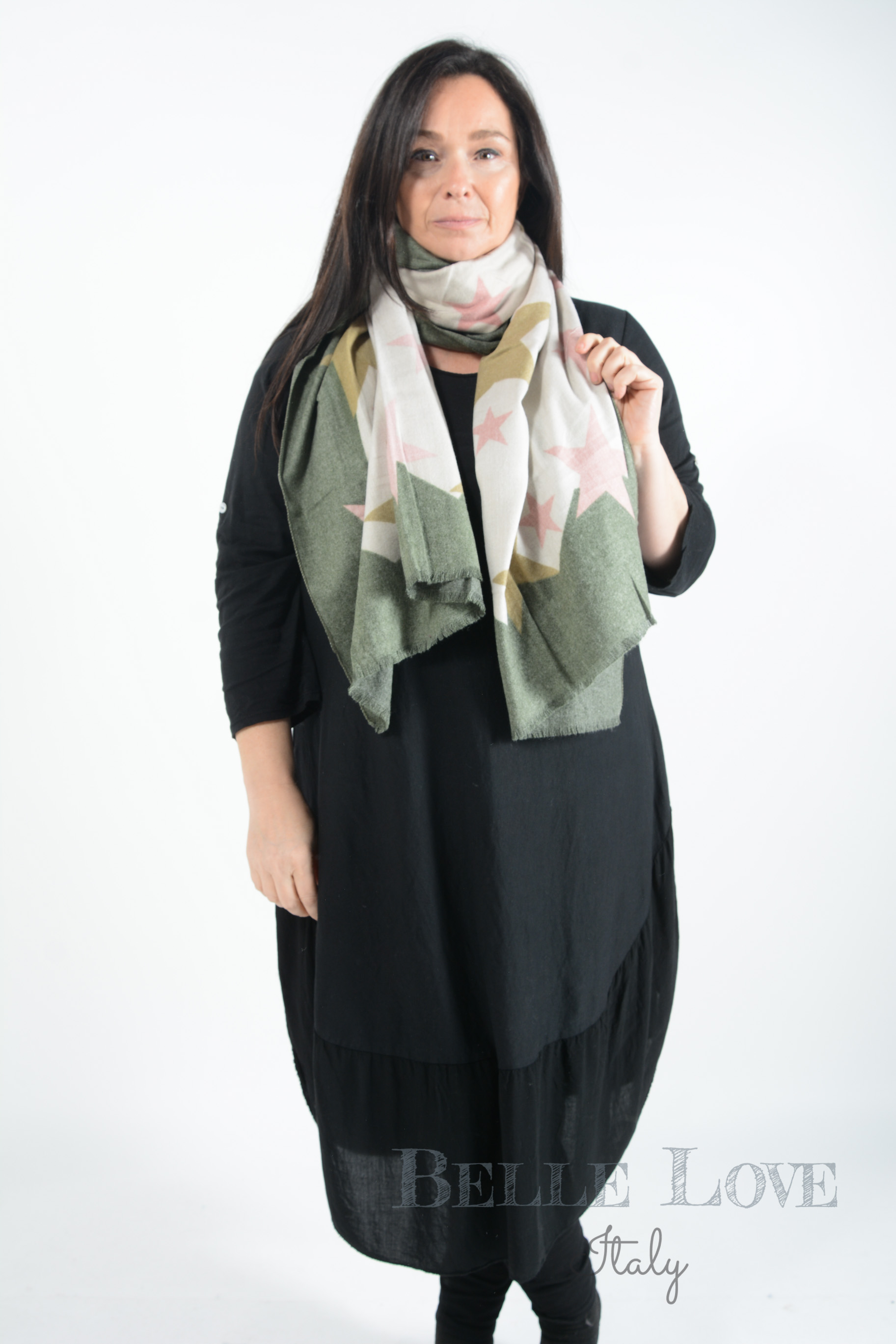 Belle Love Italy Arielle Star Scarf