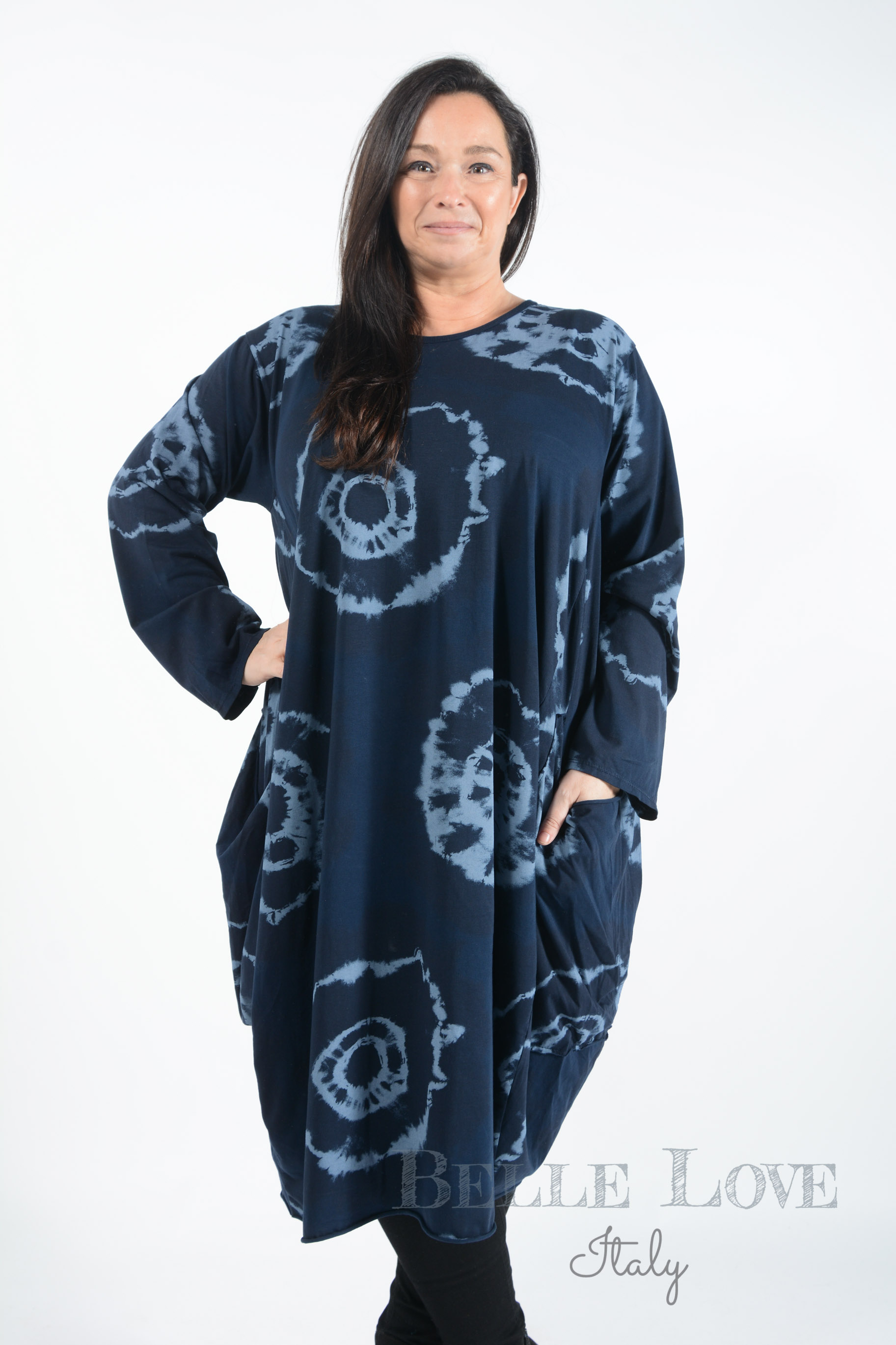 Belle Love Italy Amelia Tie-Dye Dress