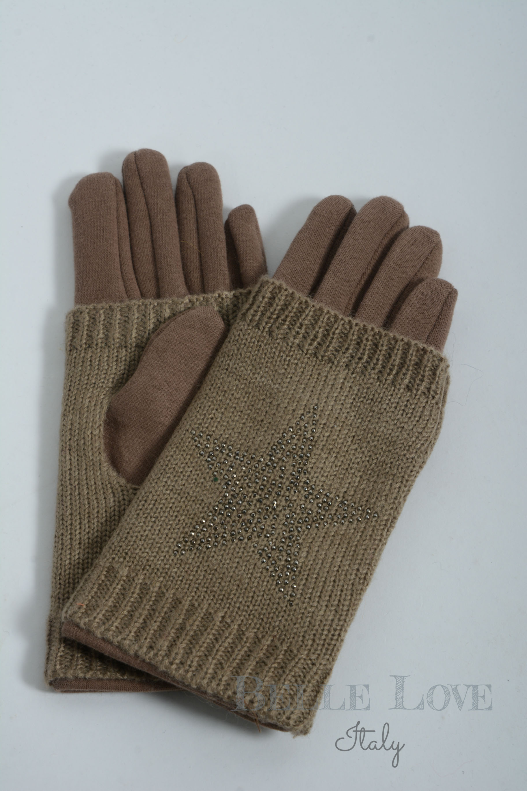 Belle Love Italy Two In One Star Gloves