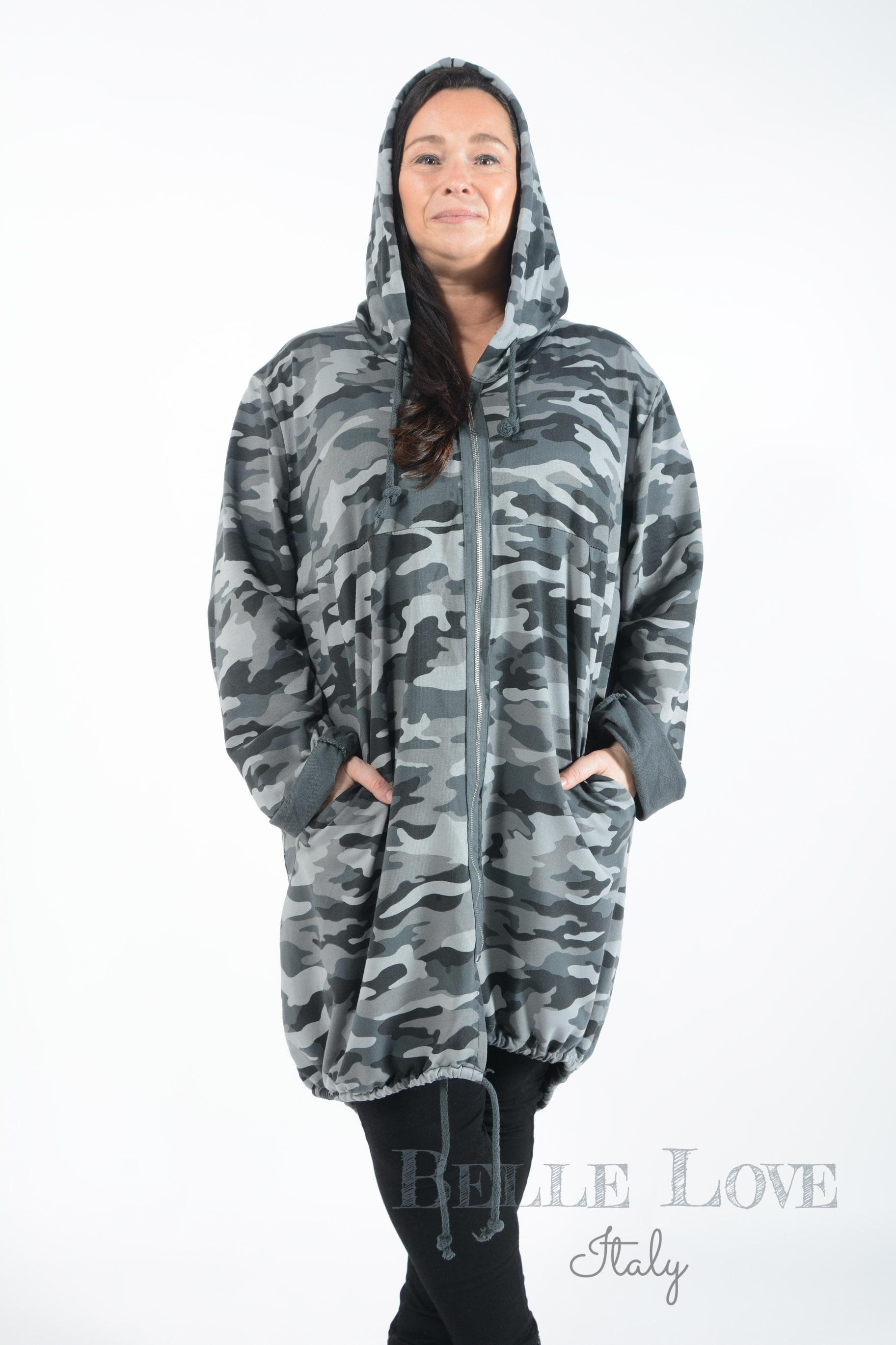Belle Love Italy Jordyn Hooded Jacket