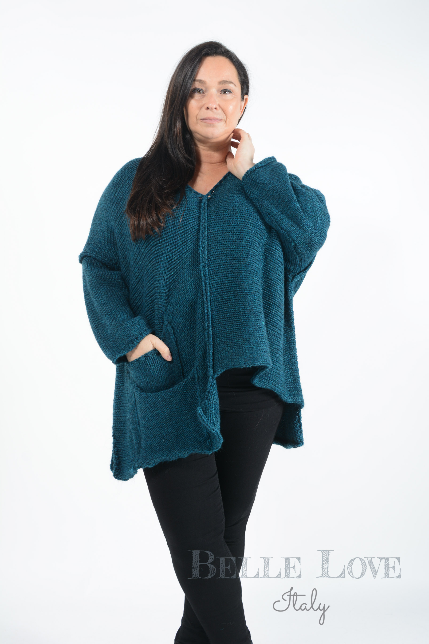 Belle Love Italy Molly Chunky Knit Jumper