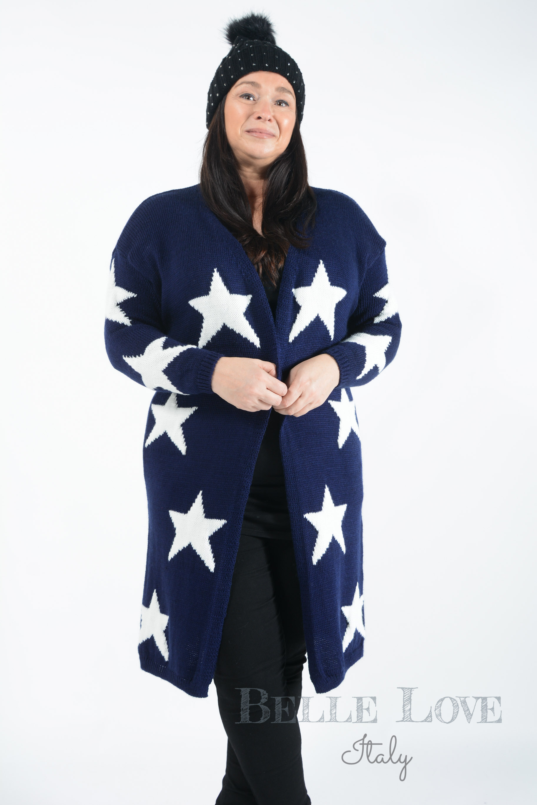 Belle Love Italy Sienna Star Cardigan