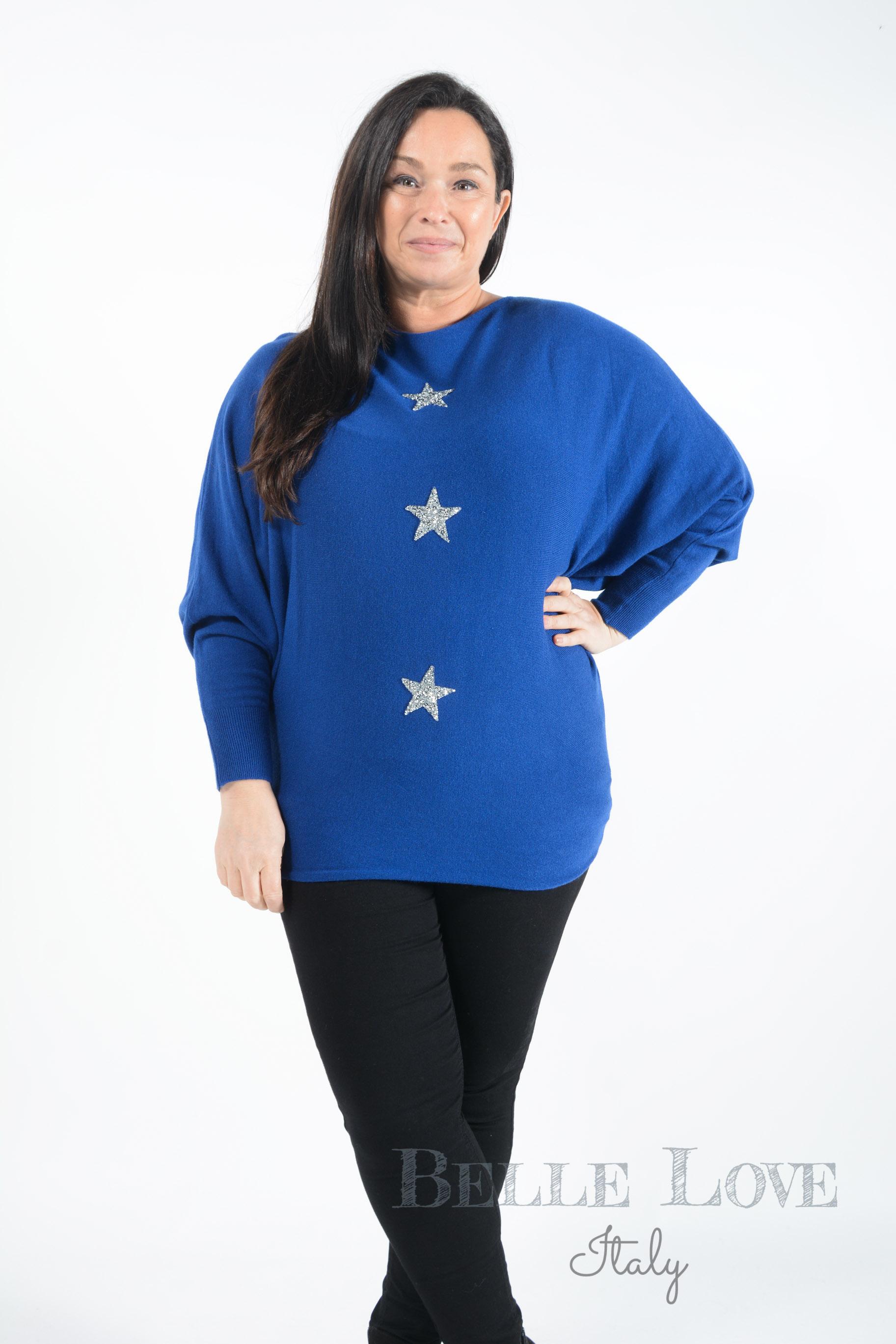 Belle Love Italy Nicola Star Knitwear