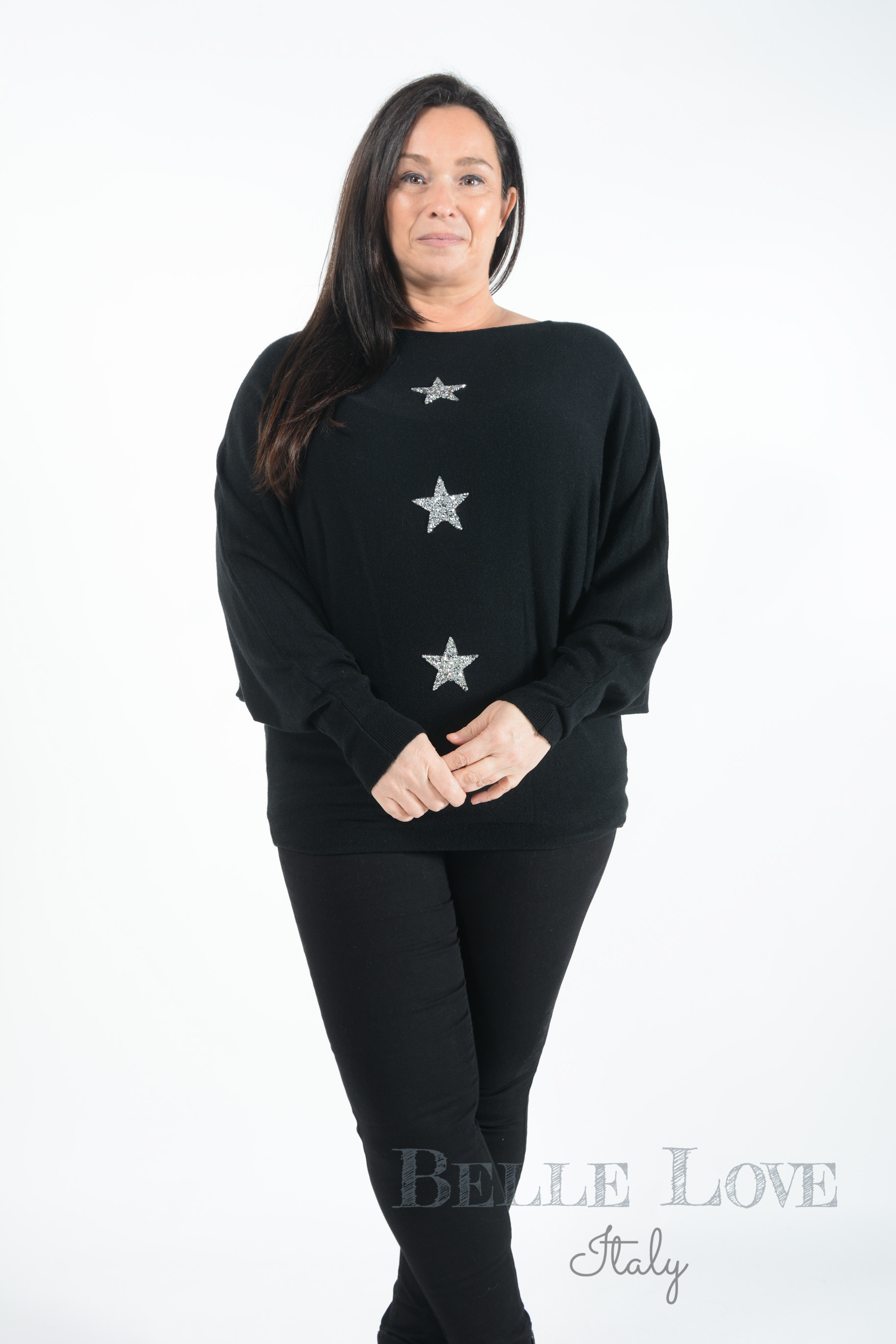 Belle Love Italy Nicola Star Knitwear