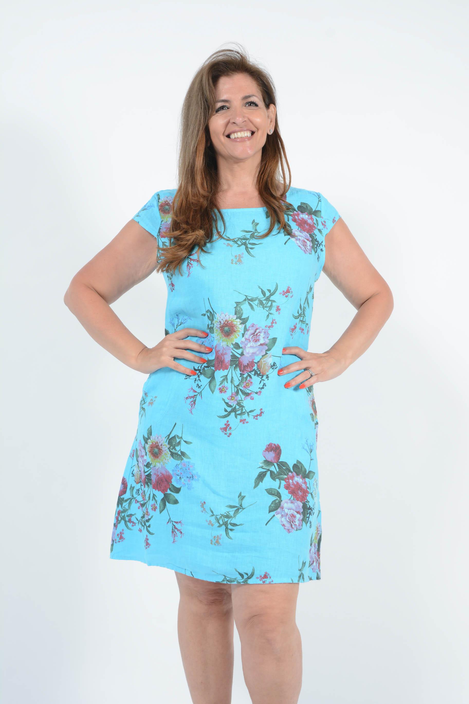 Belle Love Italy Cleo Linen Dress
