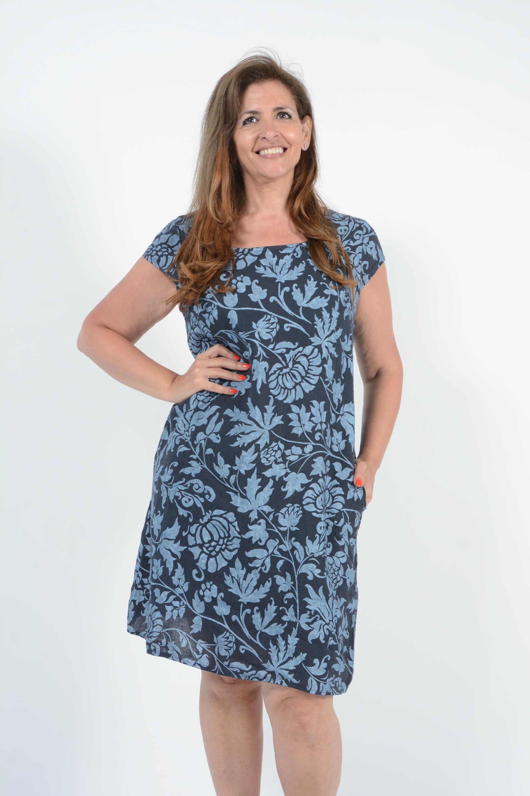 Belle Love Italy Amara Linen Dress
