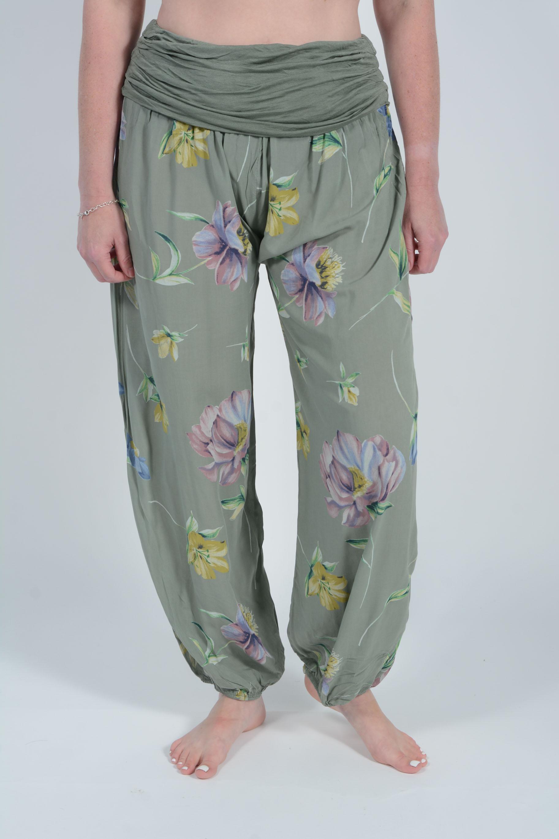 Belle Love Italy Genevieve Harem Trousers