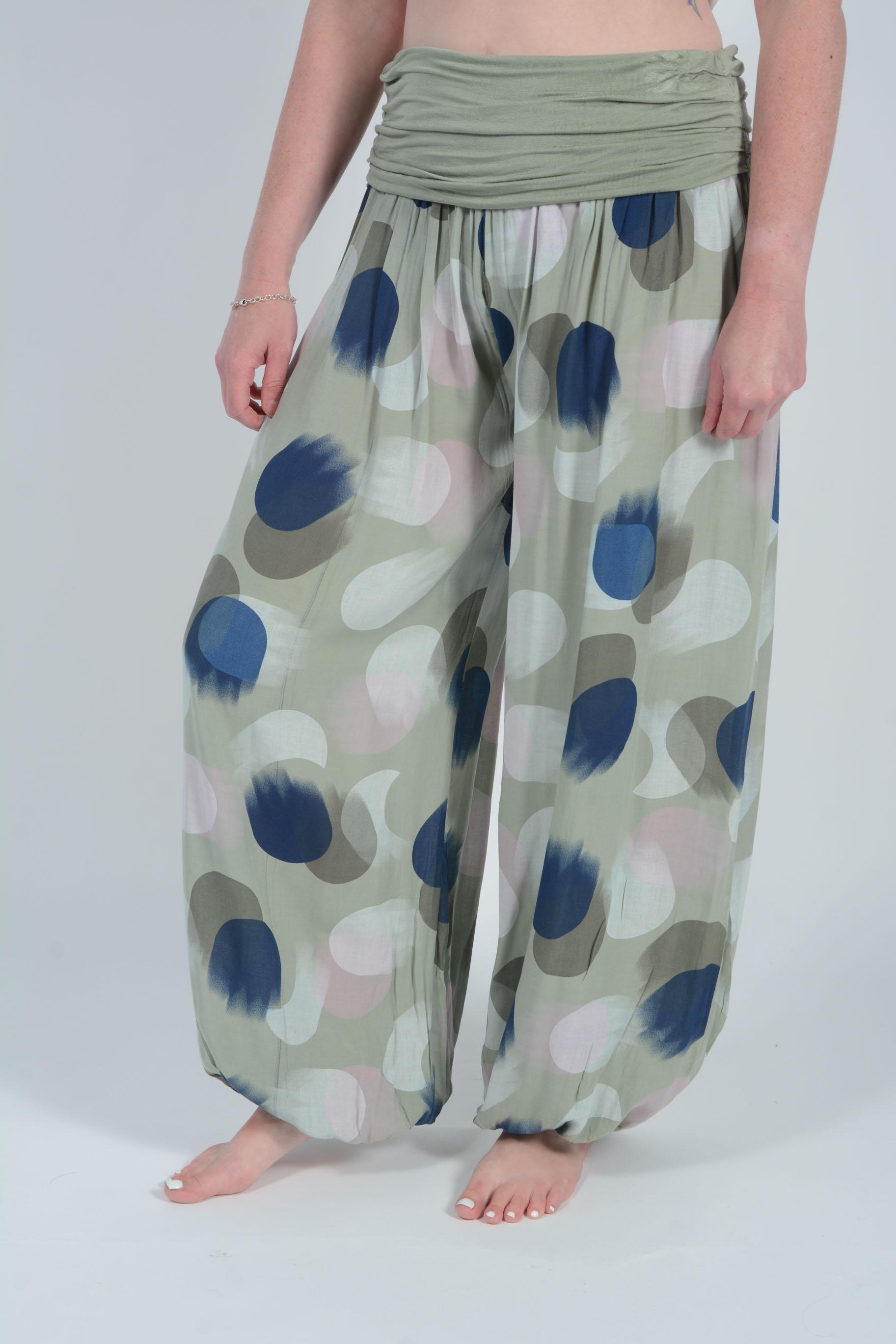 Belle Love Italy Sarai Harem Trousers