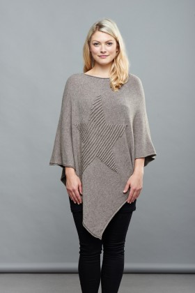 Belle Love Italy Star Poncho