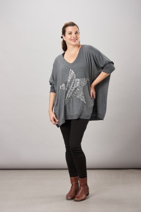 Belle Love Italy Statement  Star Top