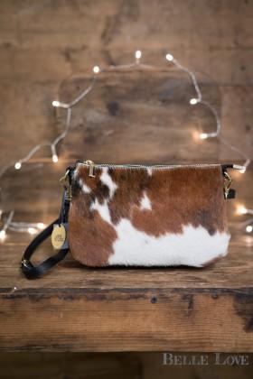 Belle Love Italy Cowhide Shoulder Bag