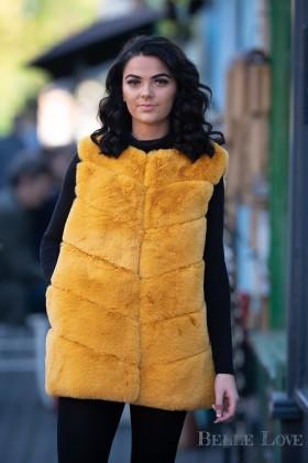 Belle Love Italy Premium Faux Fur Gilet